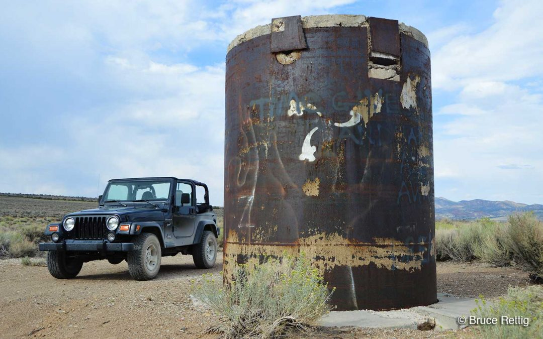 Project Faultless: Nuclear History Buried in the Nevada Desert