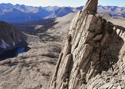 View from the Mount Whitney Trail