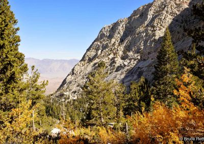 Lower section of the Mount Whitney Trail